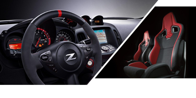 370Z NISMO Lenkrad und GT-R NISMO Recaro-Sitze