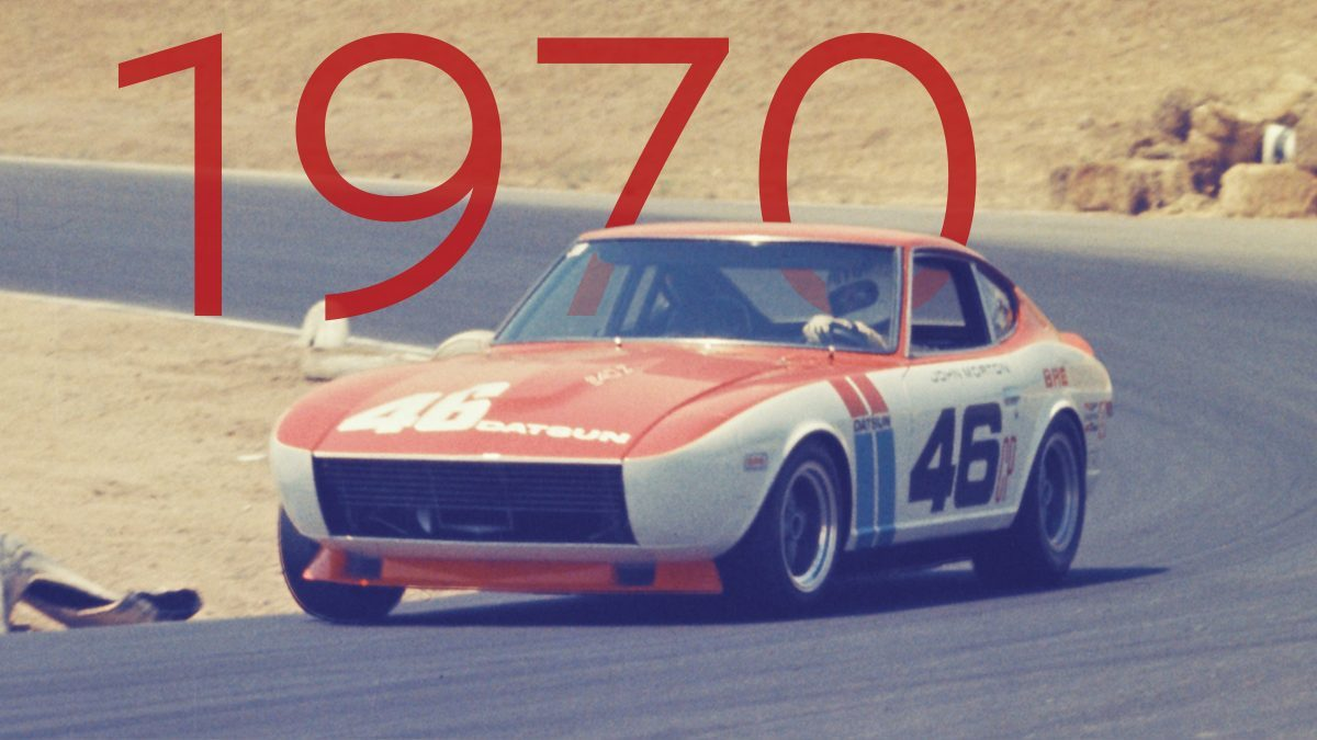 1970 Datsun 240Z C Production Race car