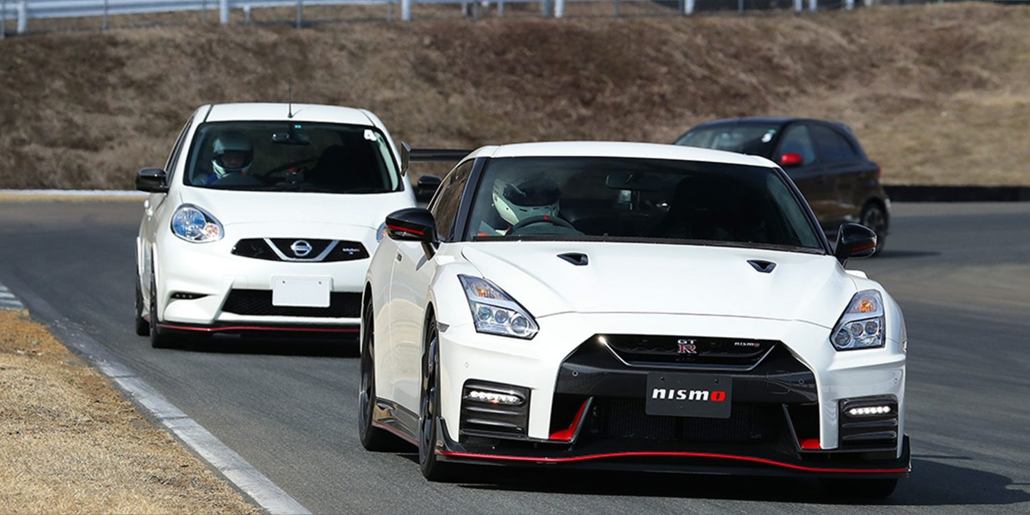 "NISMO Driving Academy, GT-R NISMO ir ""March"" NISMO"