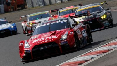 NISMO GT Academy on racetrack