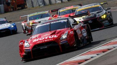 NISMO GT Academy on racetrack