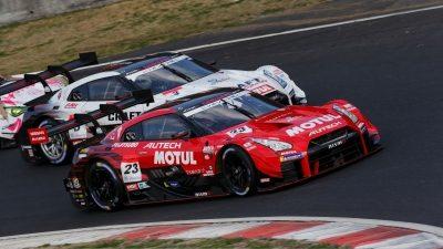 GT-R racing track