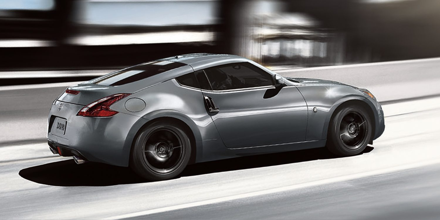 Nissan 370Z on ramp acceleration