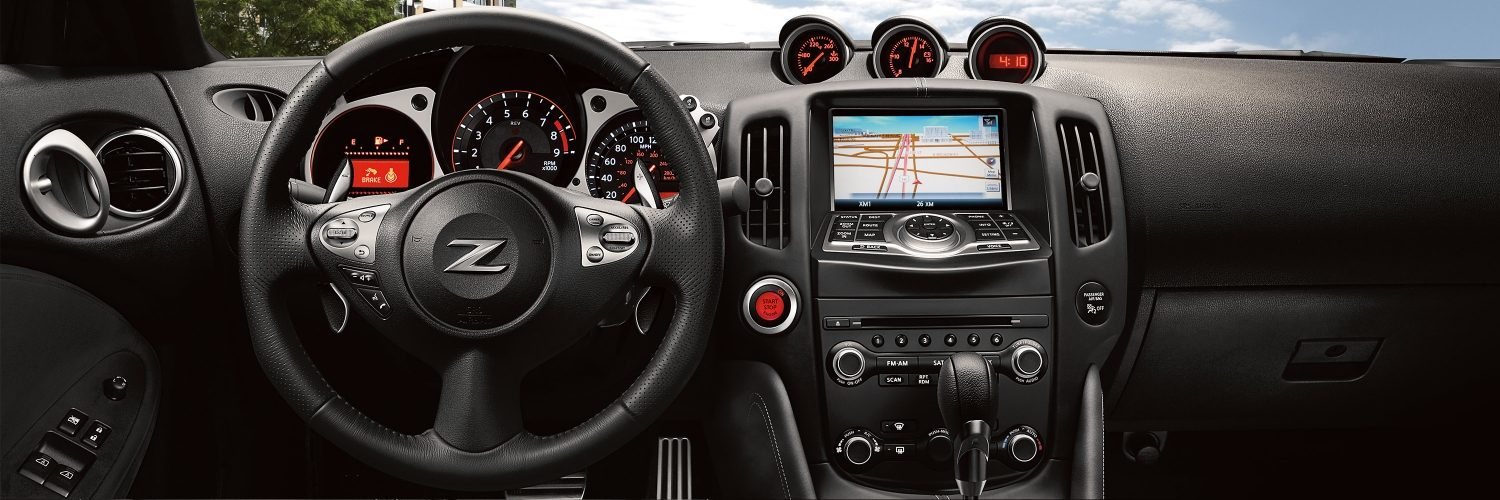 Nissan 370Z Features - 2-Door Coupe - Sports Car