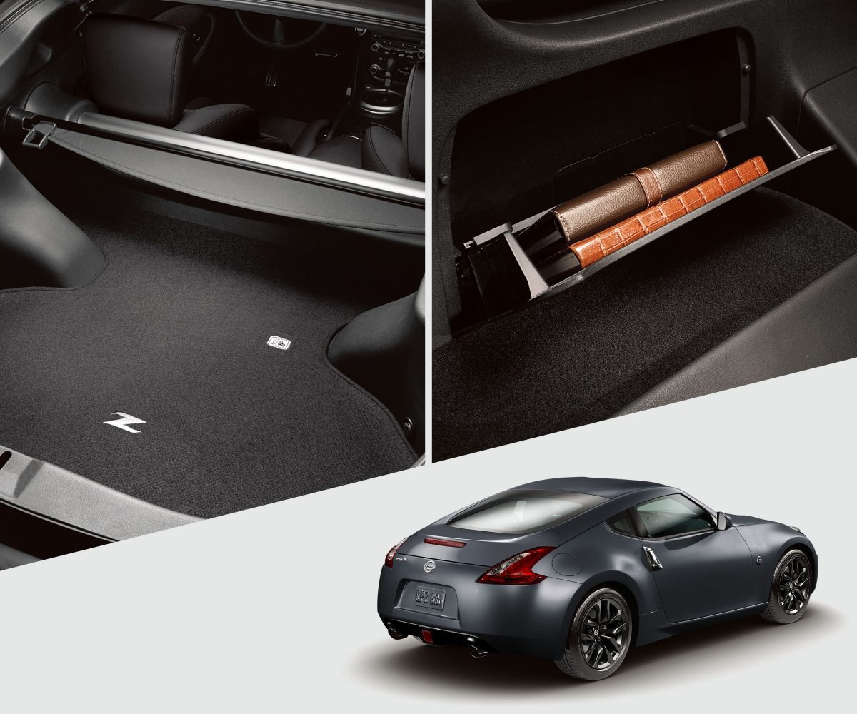 Nissan 370Z cargo compartments
