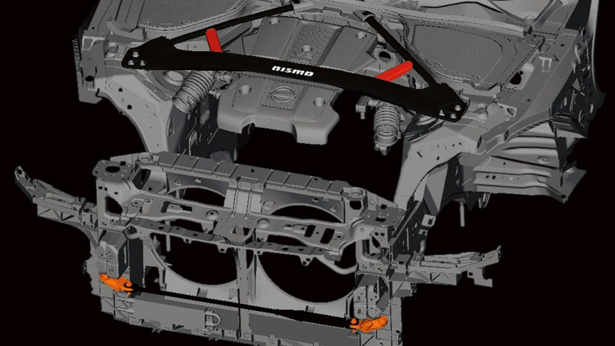 NISMO | Nissan 370Z | Vibration dampers and chassis reinforcement
