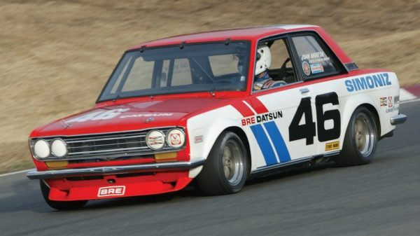 BRE Datsun 510 race car