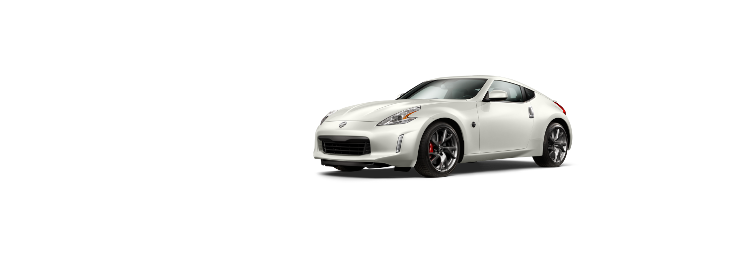 370Z COUPE - Brilliant White