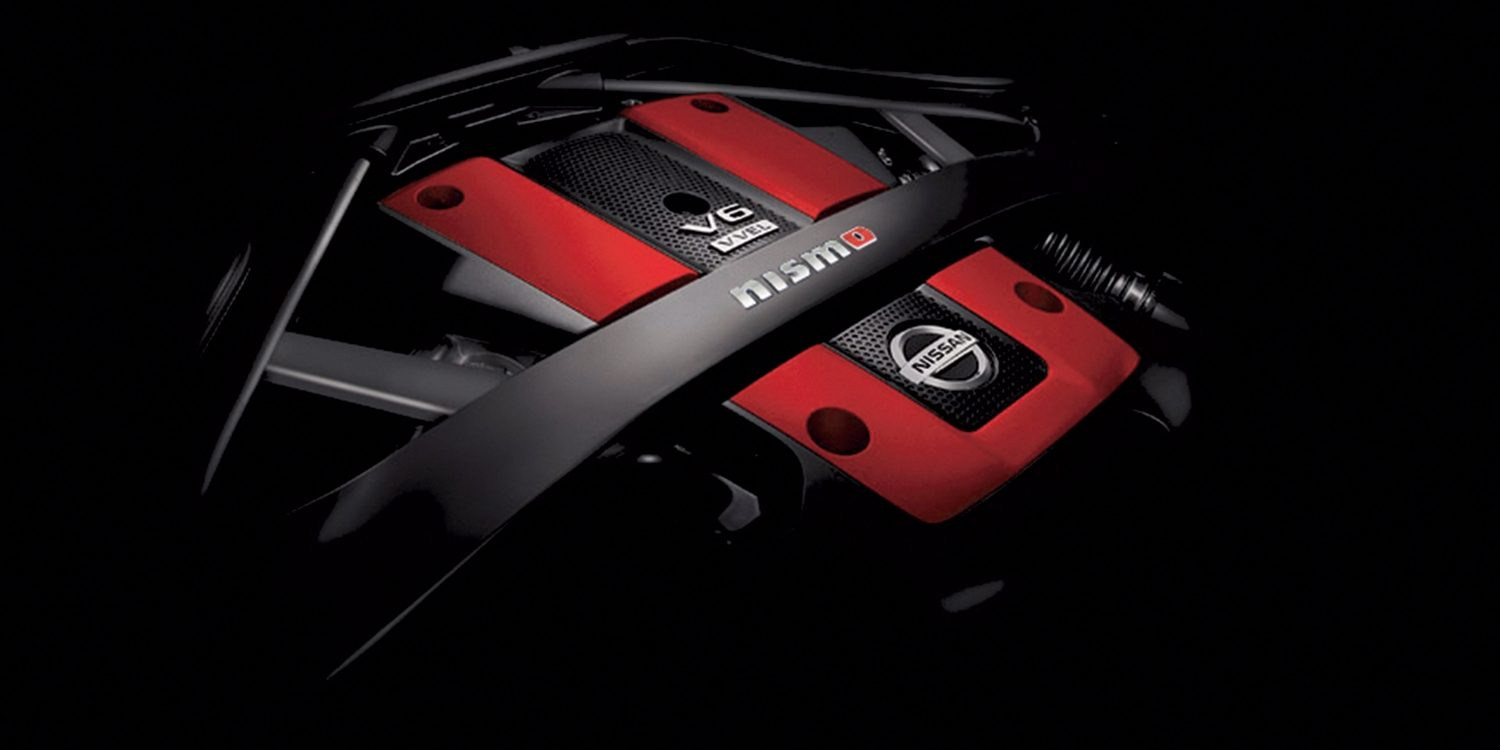 Nissan 370Z Nismo engine
