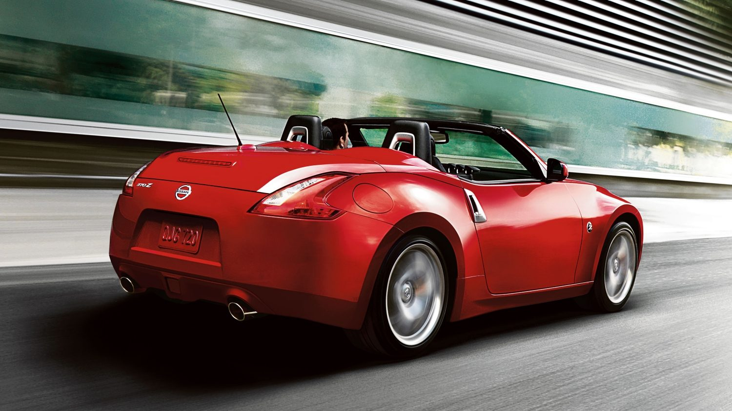 Nissan 370Z ROADSTER Signal Red