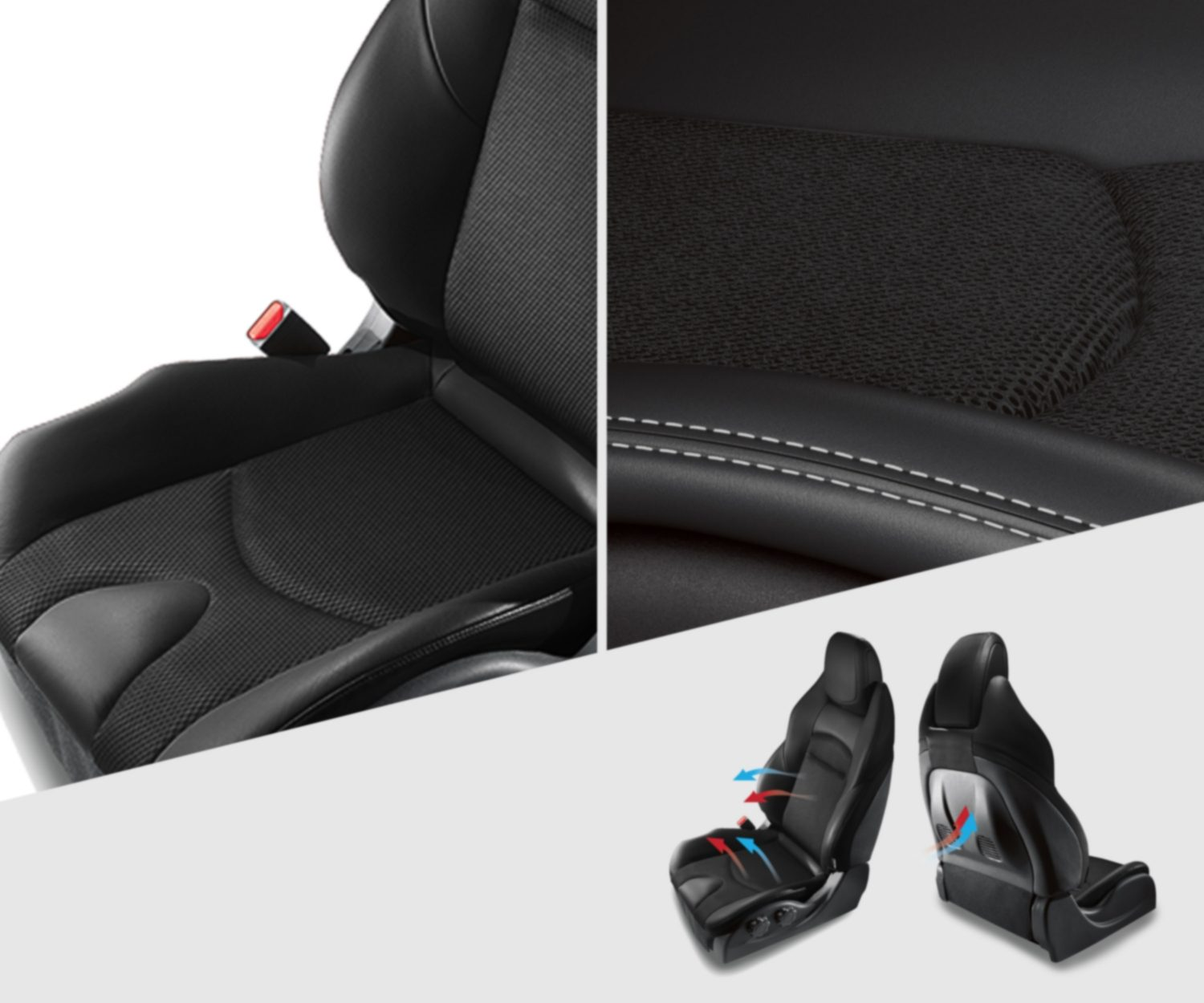 Nissan 370Z Roadster heated and cooled seats