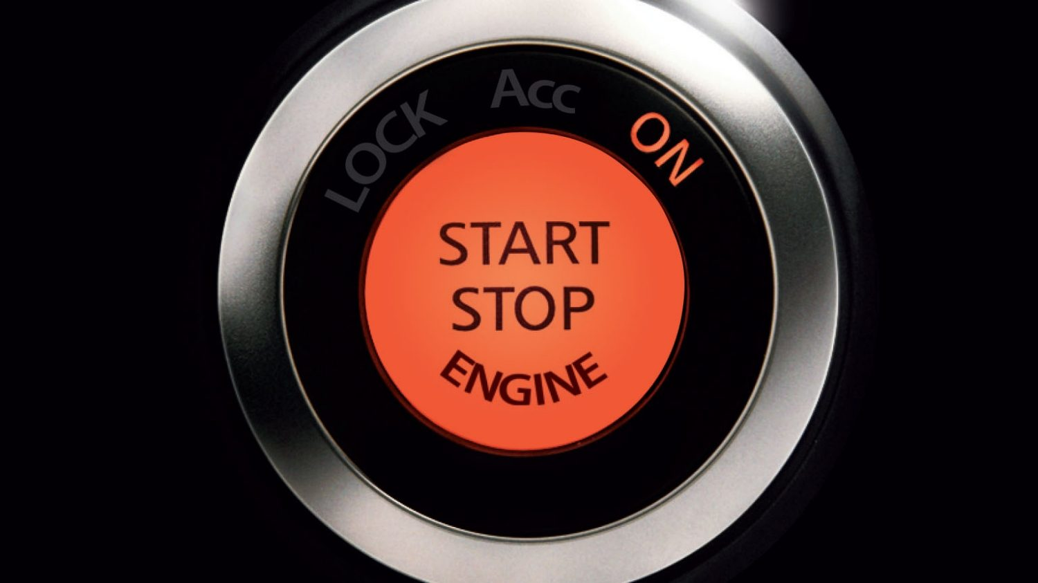 Nissan 370Z Roadster - START/STOP-knop