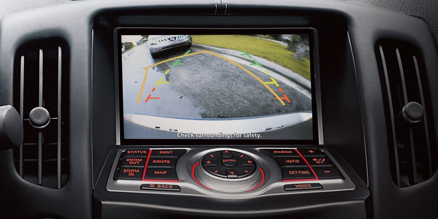 Nissan 370Z Coupe RearView Monitor
