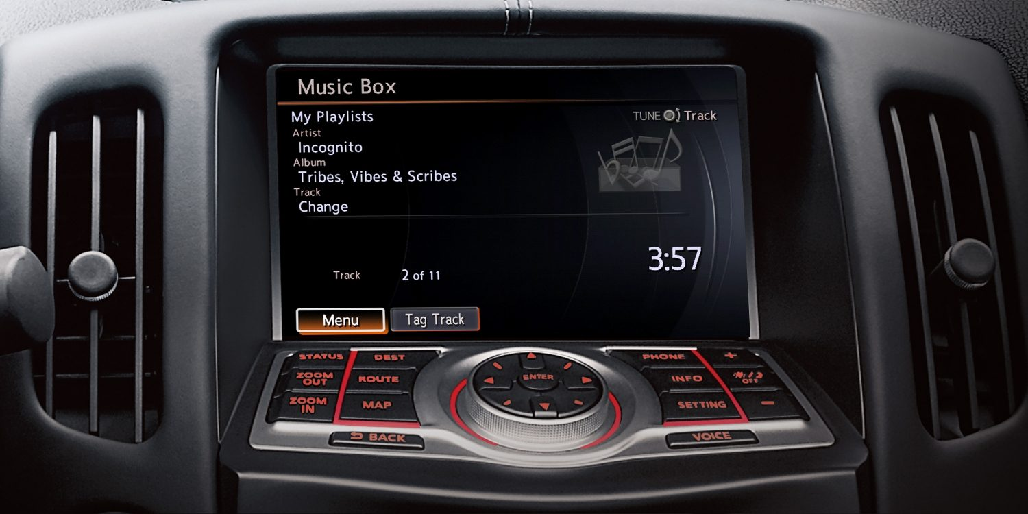 Nissan 370Z Roadster Music Box Display