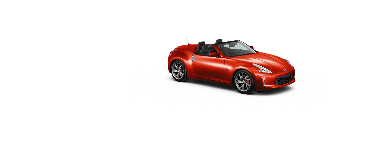Nissan 370z Roadster - Vibrant Red