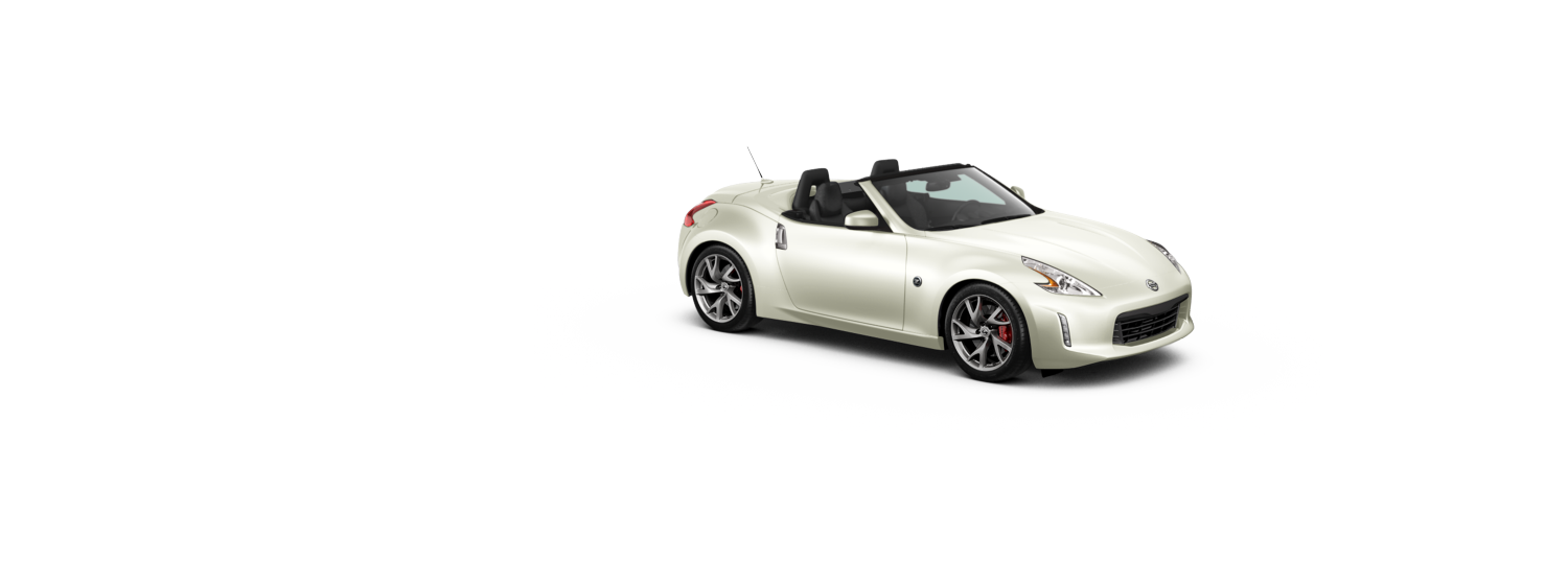 370Z Roadster - Brilliant White