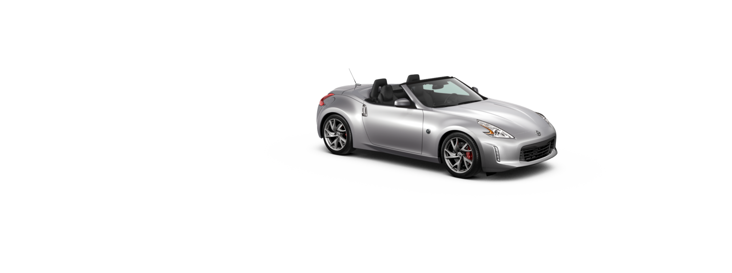 370Z Roadster - Brilliant Silver