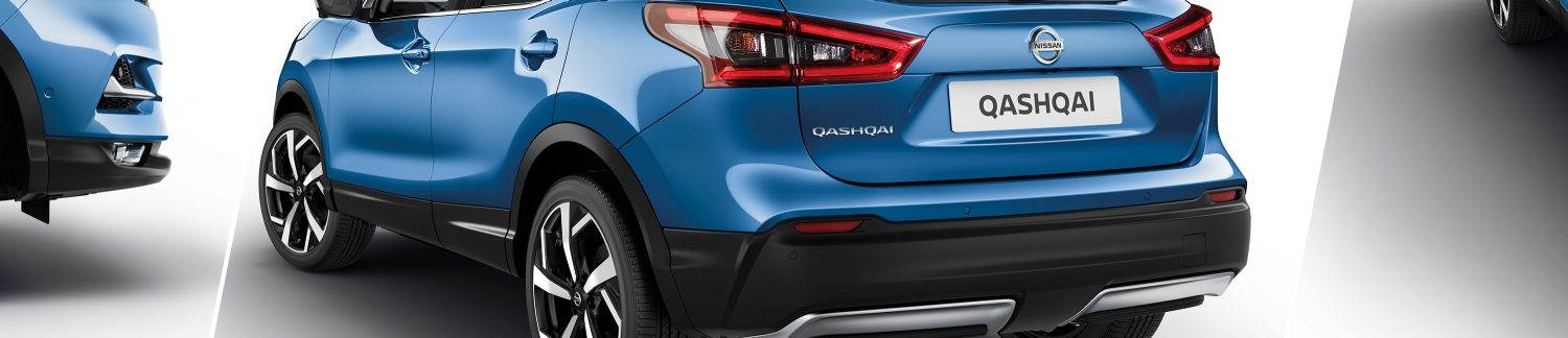 New Nissan QASHQAI finishings touches