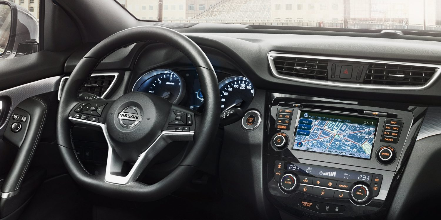 New Nissan QASHQAI - Premium interior design
