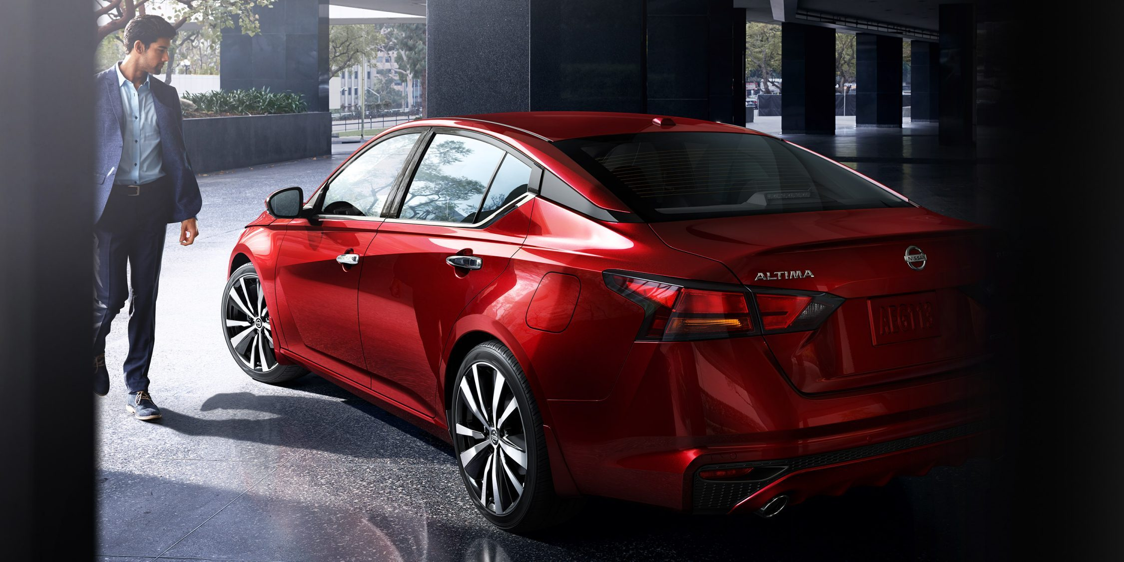2019 red nissan Altima