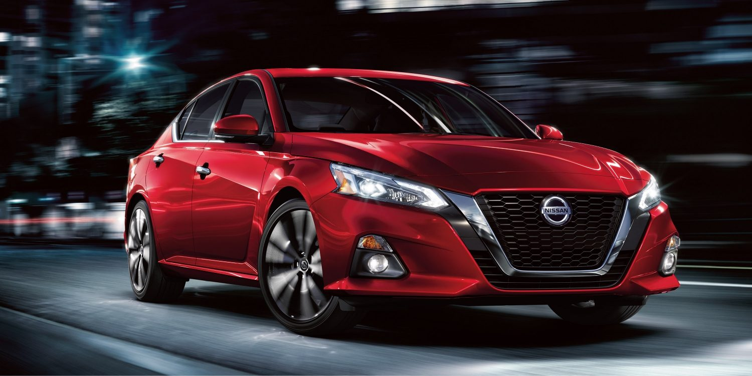 red 2019 nissan altima exterior