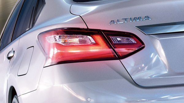 Nissan Altima close up taillights