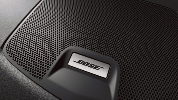 Nissan Altima close up of Bose speaker