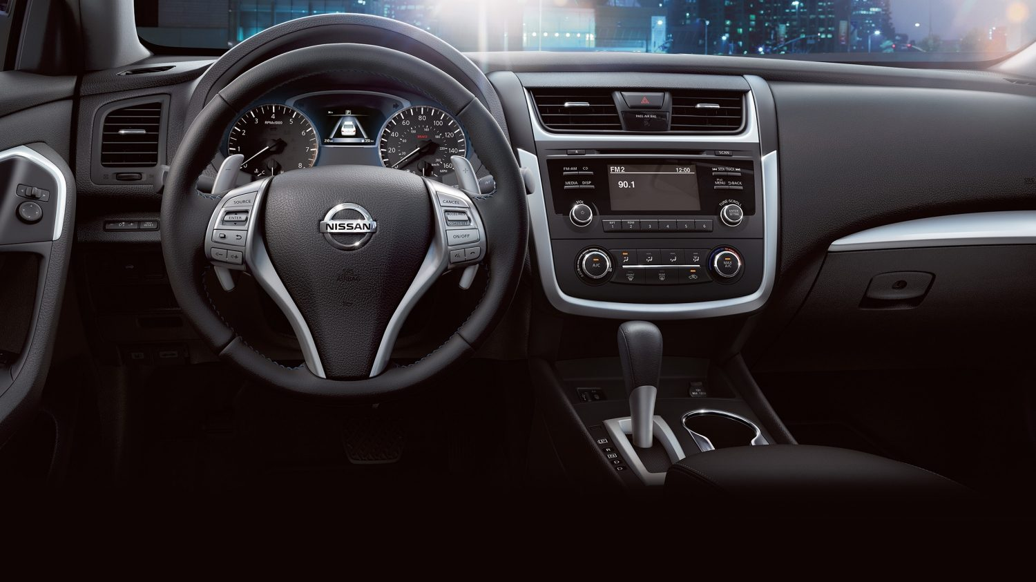 Nissan Altima heated seats and steering wheel