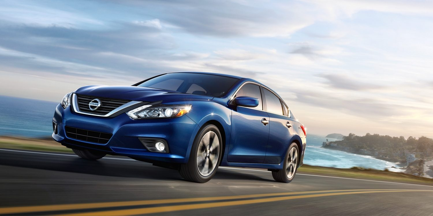 The excitement of driving a 2017 Nissan Altima