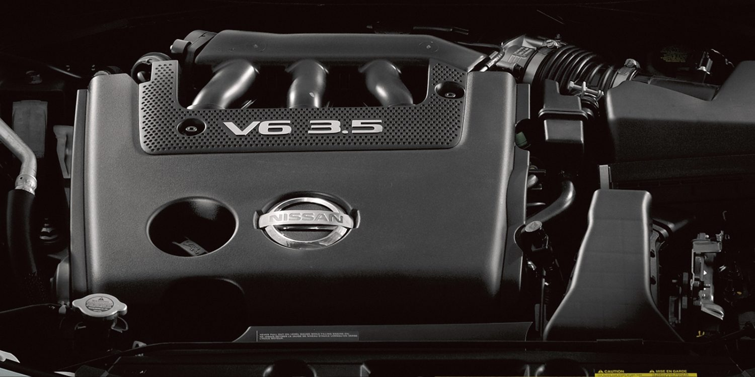 Nissan Altima V6 engine cover