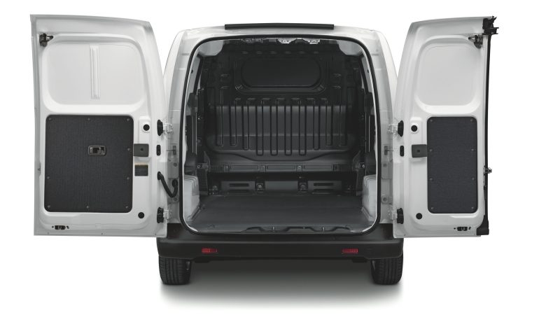 Nissan e-NV200 - Rear angle with rear doors open
