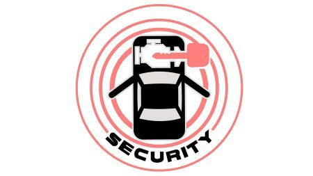 Nissan e-NV200 - Security system illustration