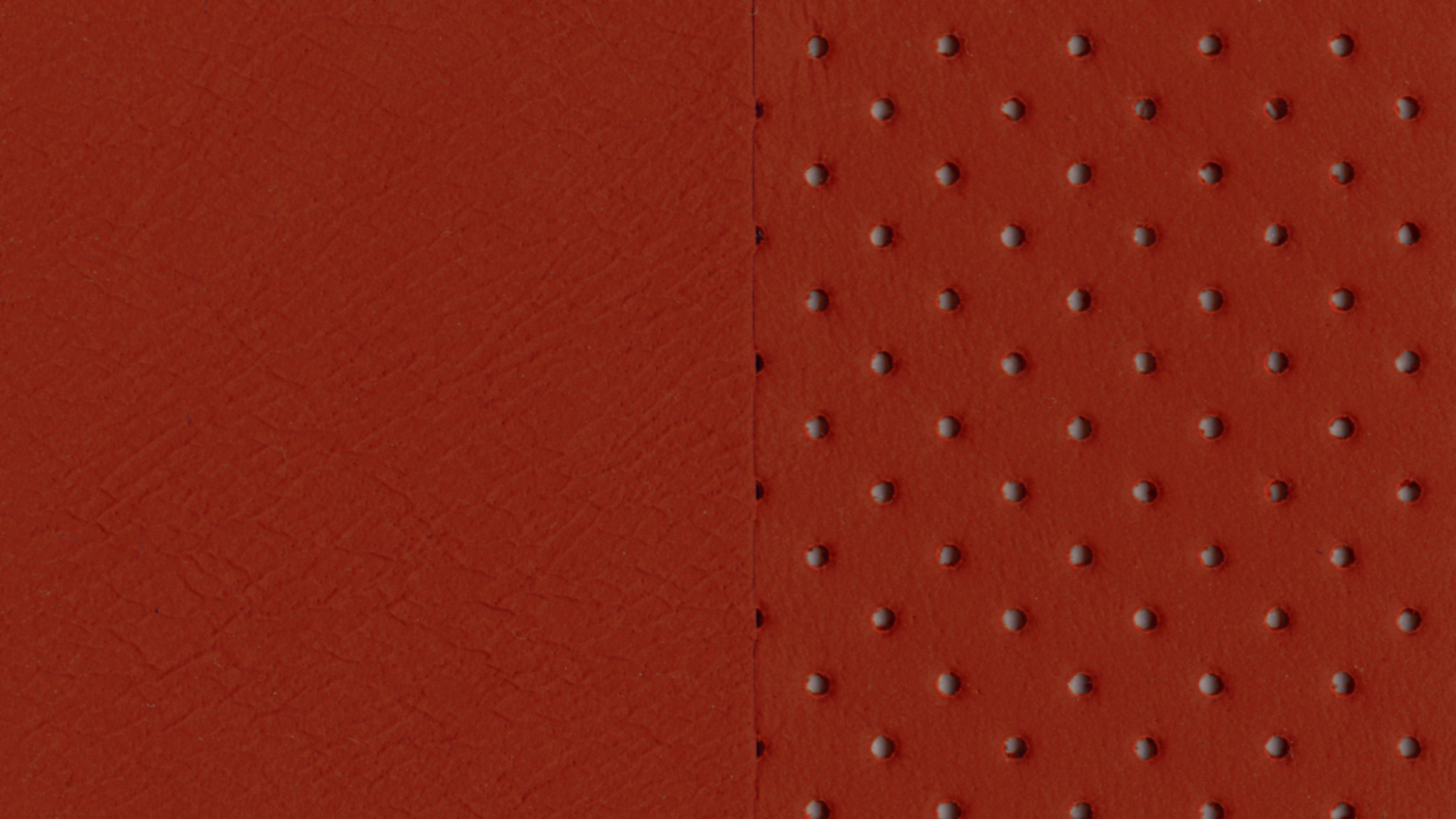 Red Amber Semi-aniline Leather