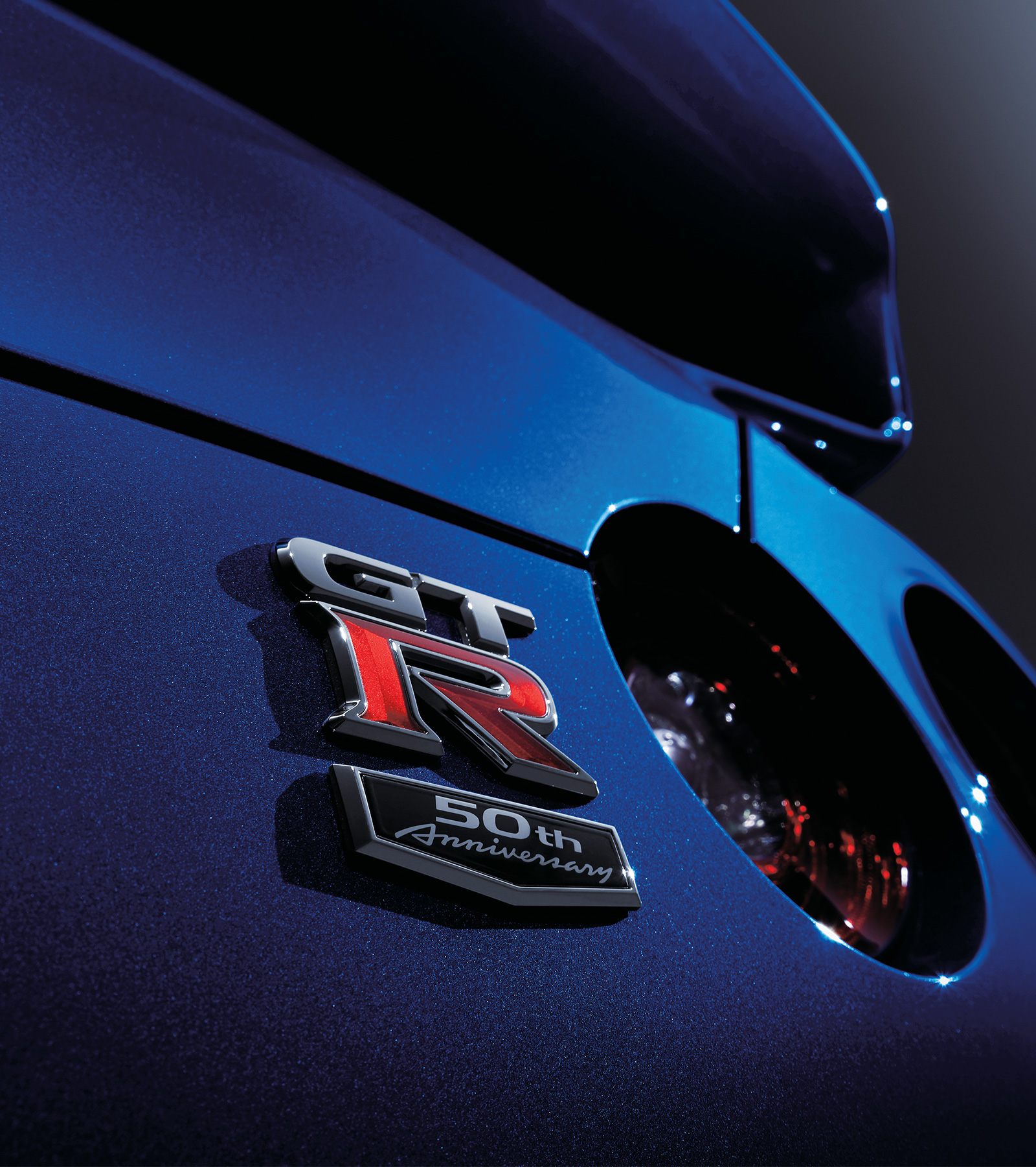 Nissan GT-R 50th Anniversary badge