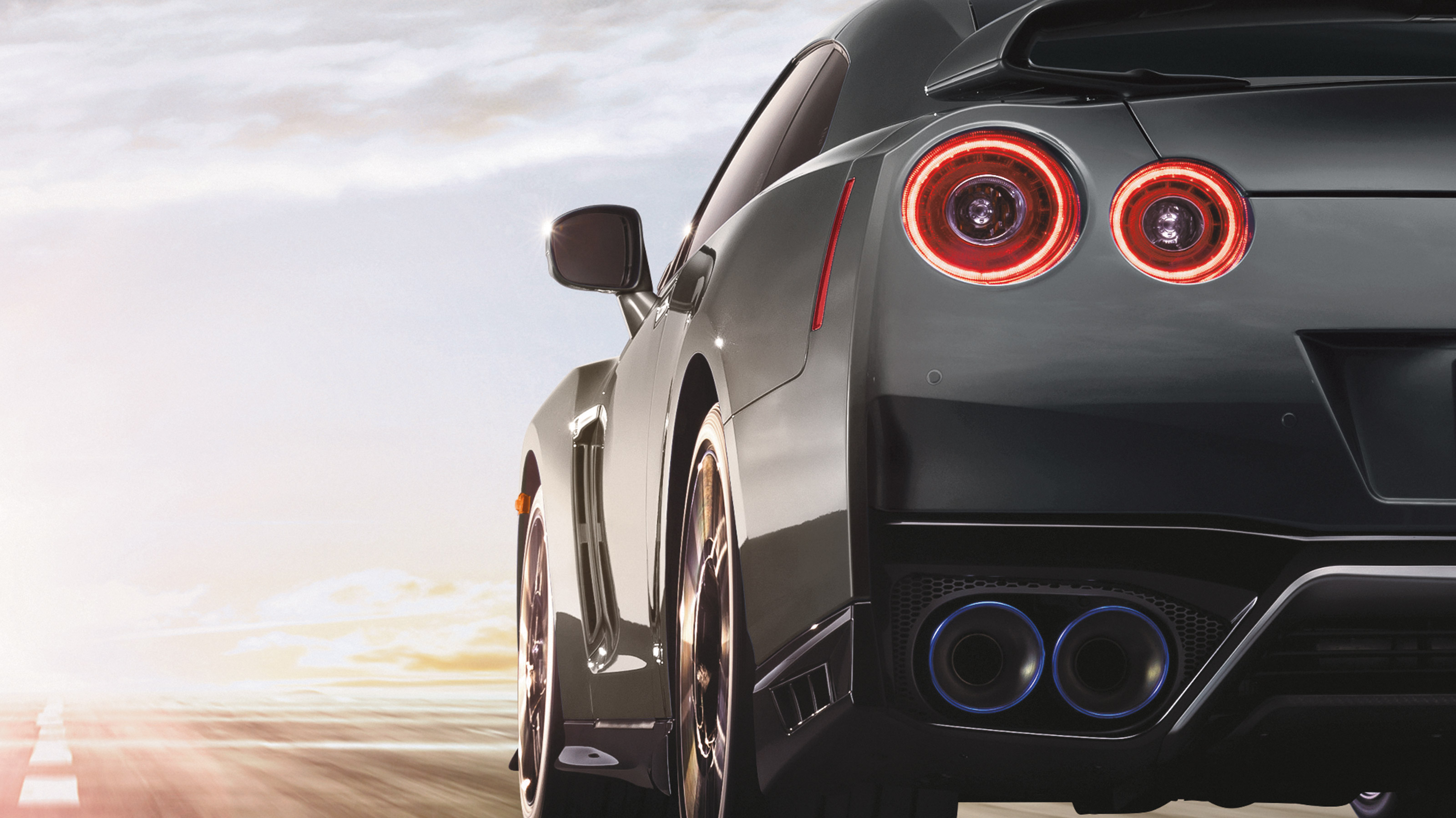 Nissan GT-R iconic round taillights