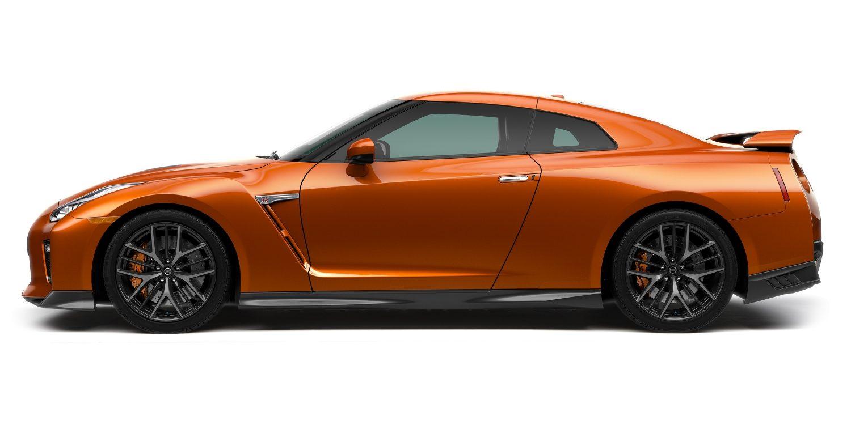 Nissan Gt R Features Technologies Sports Car Gtr R35 Sketch Profile