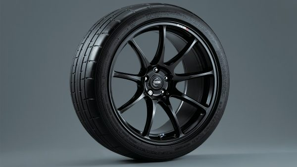 "GT-R Nismo 20"" Rays forged wheels"
