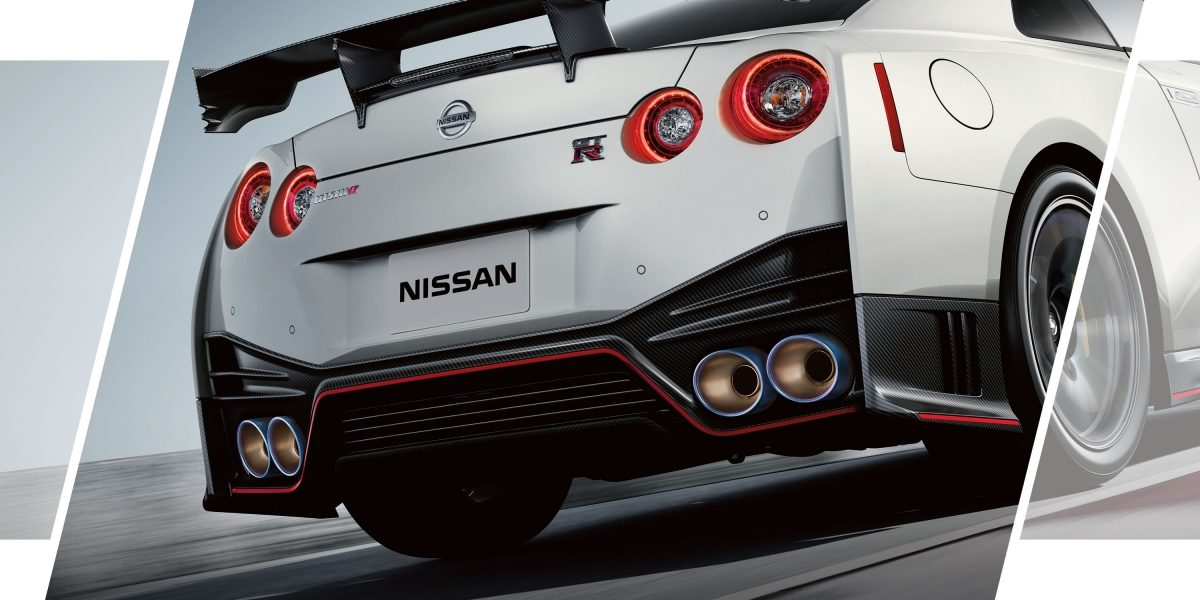 GT-R Nismo from behind