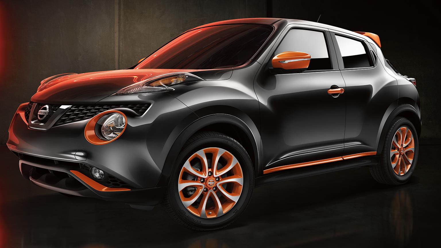 Nissan JUKE— персонализация— цвет