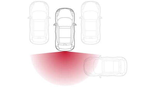 Nissan JUKE— безопасность— система распознавания движущихся объектов
