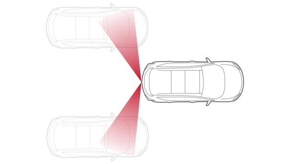 Nissan JUKE— безопасность— система мониторинга «слепых» зон