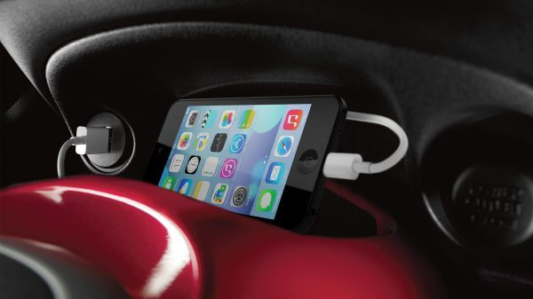 Nissan Juke - Nissan Connect smartphone and MP3