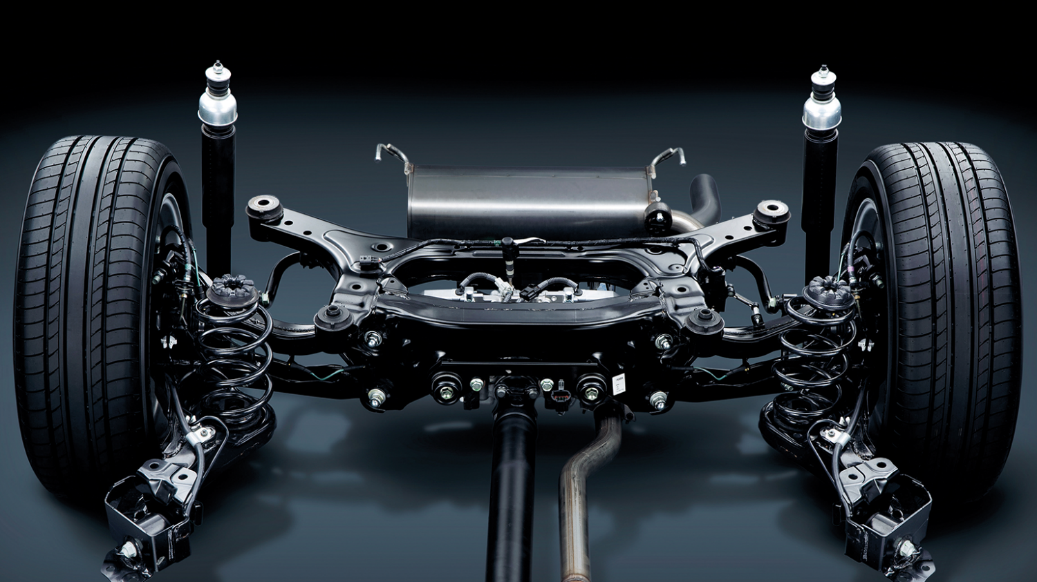 Multi-link rear suspension