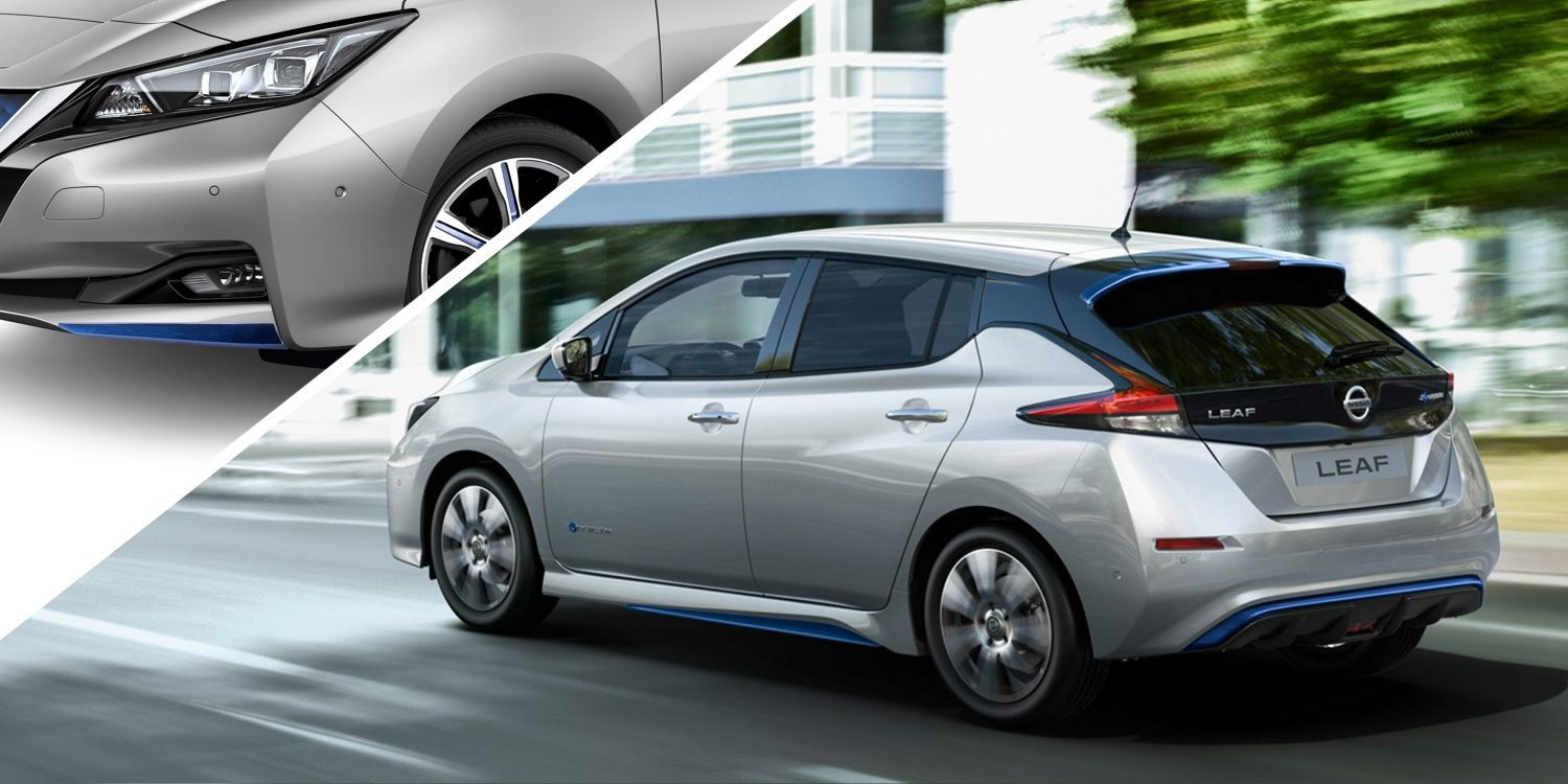 Nissan LEAF med dynamic pack