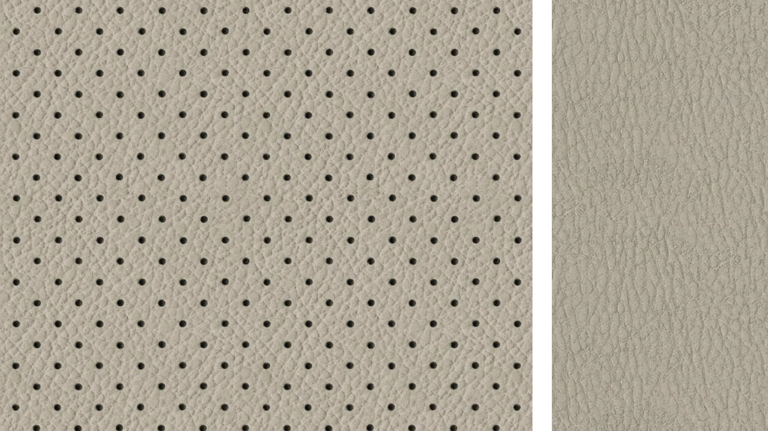 BEIGE – LEATHER / ULTRASUEDE ®