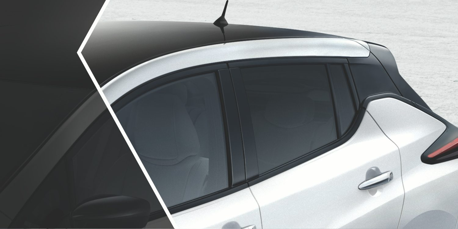Nissan LEAF floating roof design