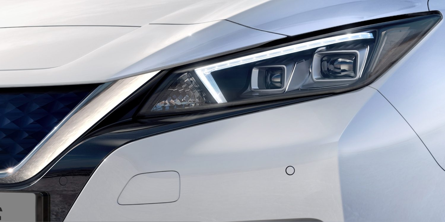 Faróis LED do Novo Nissan LEAF