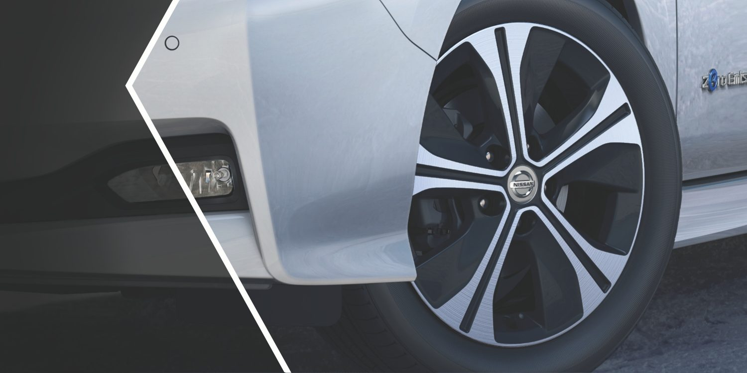 Nissan LEAF distinctive wheels