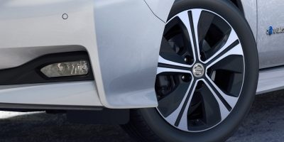 New Nissan LEAF distinctive wheels