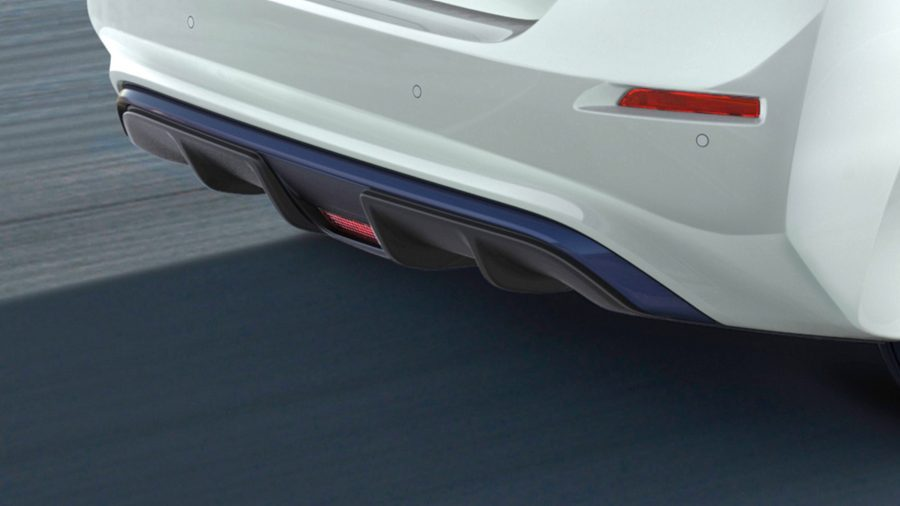 New Nissan LEAF lower diffuser